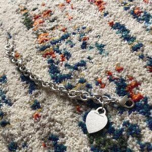 Tiffany & Co. Jewelry - T&Co. | Heart Tag Bracelet